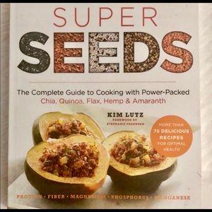 🌟SUPER SEEDS cookbook by Kim Lutz-nutrition